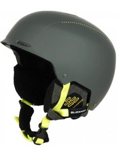 BLIZZARD Guide ski helmet, grey matt/neon yellow matt 60-63 cm