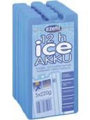 Chladící náplň do termotašek EZETIL Ice Pack 5x220g High Performance