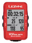 Cyklo navigace Lezyne Super GPS RED special edition
