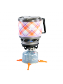 Jetboil MiniMo Yama Purple Plaid- kompaktní vařič do přírody