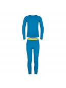 Zajo Elf Kids Merino Set - greek blue vel. 146-152